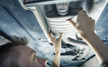BMW Exhaust System Maintenance
