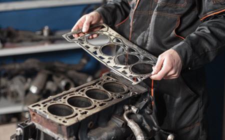 Land Rover Head Gasket Leak Repair
